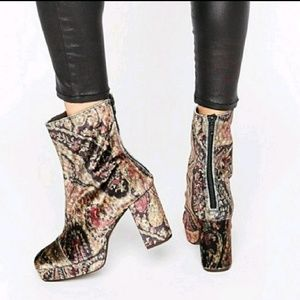 DISCONTINUED Free People Paisley Day to Night Boot